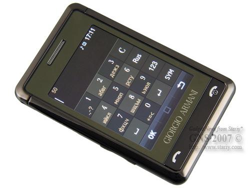 Samsung Giorgio Armani в версии Titan Grey.