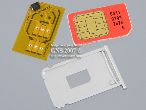Stealth SIM Apple iPhone 1.1.2 OTB (4.6)
