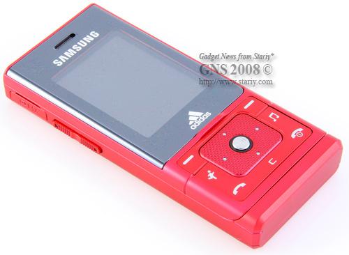 Samsung SGH-F110 Adidas Pink Red