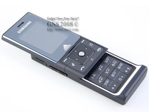 Samsung SGH-F110 Adidas Dark Grey