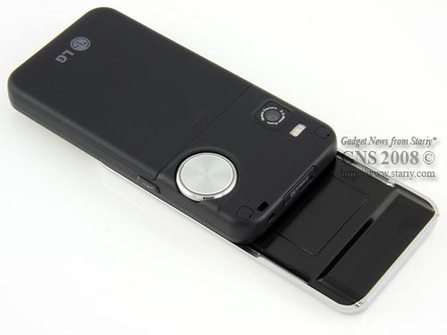 LG KF700 Bright Silver. Тройное управление.