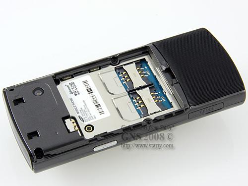 Samsung SGH-D780 DUOS Dark Silver