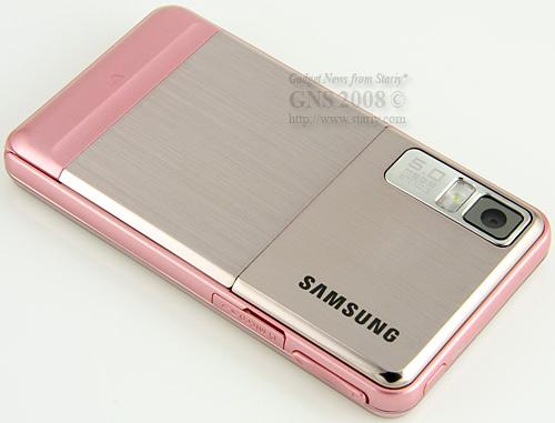 Даже меню телефона Samsung SGH-F480 Coral Pink разработано таким образом