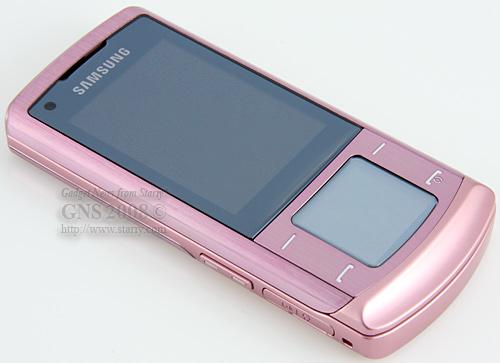 Розовый флагман  Samsung SGH-U900 Soul Pink.