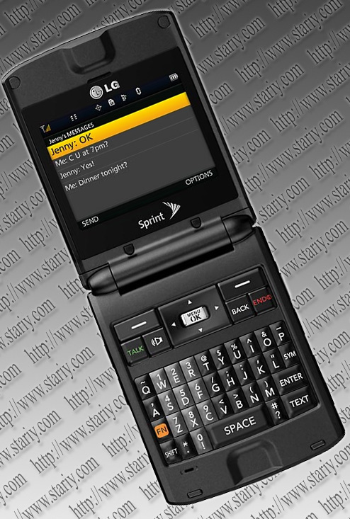 LG LX600 Lotus