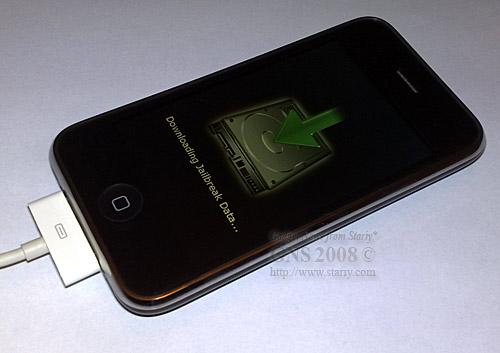Обновление прошивки Apple iPhone 3G с джайлбрейком (Jailbreak) и установкой программ Installer и Cydia.