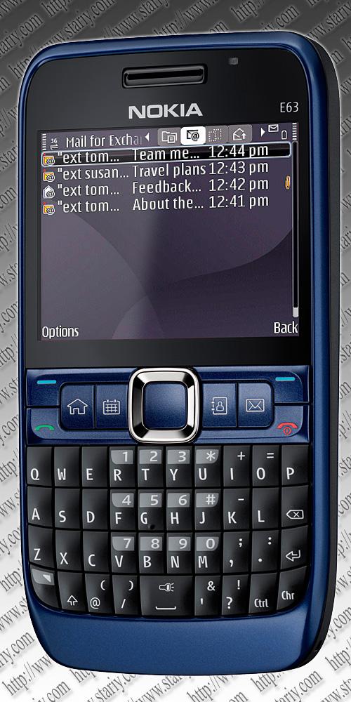 Nokia E63 Ultramarine Blue