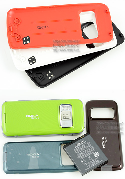Nokia N79 - Сменные панели Xpress-on Smart Covers.