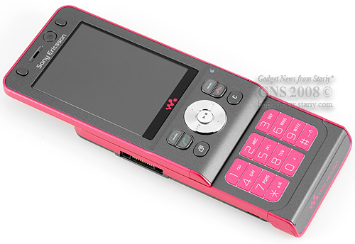 SonyEricsson W910i Walkman Lipstick. Для девушек женщин и прекрасных дам.