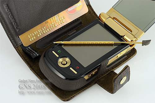 Motorola MOTOMING A1600 Gold Edition