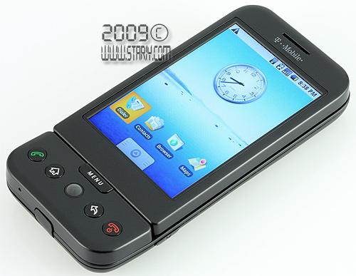 Android коммуникатор T-Mobile G1, он же HTC Dream или Гуглофон №1