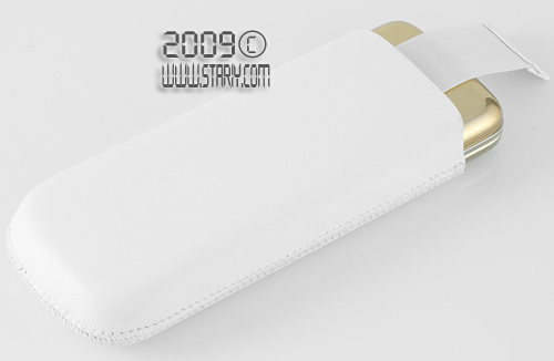 кожаный чехол Nokia СР-212 с выдвижным ползунком для быстрого извлечения Nokia 8800 Gold Arte