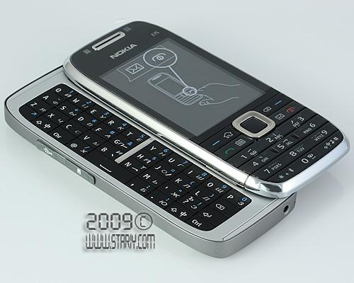 Nokia E75 Silver Black