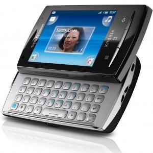 2. Sony Ericsson Xperia X10 mini pro.