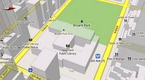 Google Maps 5.0. Векторные трехмерные карты для ОС Android 1.6 и выше.